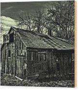The Adirondack Mountain Region Barn Wood Print