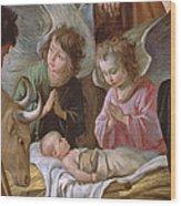 The Adoration Wood Print by Le Nain