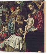 The Adoration Of The Magi, 1620 Oil On Canvas Wood Print