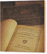 The Adventures Of Huckleberry Finn Wood Print by Edward Fielding
