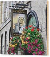 The Advocate Pub Wood Print