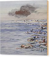 The Aftermath Of The Lusitania Wood Print