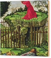 The Agony In The Garden, C.1500 Oil On Canvas Wood Print