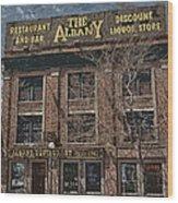 The Albany Wood Print