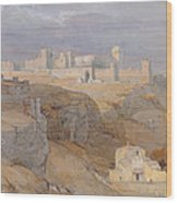 The Alcazar Of Carmona, Andalucia Wood Print