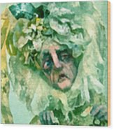 The Alchemist Of Oz Wood Print