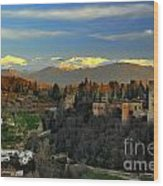 The Alhambra Palace Granada Spain Wood Print