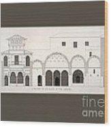 The Alhambra Wood Print