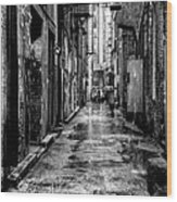 The Alleyway In Market Square - Knoxville Tennesse Wood Print