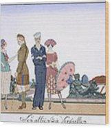 The Allies In Versailles Wood Print