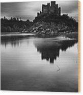 The Almourol Castle Wood Print by Jorge Maia