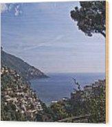 The Amalfi Coast Wood Print