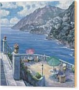 The Amalfi Coast Wood Print by John Zaccheo