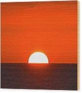 The Amazing Maui Sunset Wood Print
