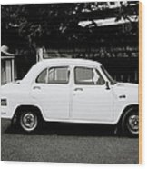 The Ambassador Car Wood Print