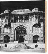 The Amber Fort Jaipur Wood Print