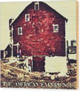 The American Experience Wood Print