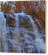 The Amicalola Waterfall Wood Print