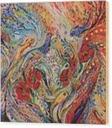 The Anemon Flowers Wood Print