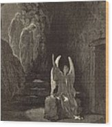 The Angel At The Sepulchre Wood Print