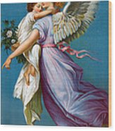 The Angel Of Peace Wood Print by B T Babbitt