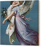 The Angel Of Peace Wood Print