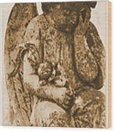 The Angel Virginia Wood Print