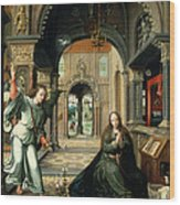 The Annunciation, Early 16th Century Wood Print