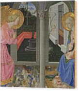 The Annunciation Wood Print