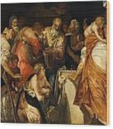 The Anointment Of David Wood Print