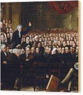 The Anti-slavery Society Convention 1840 Wood Print