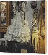 The Antique Doll Wood Print