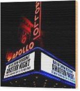 The Apollo Theater Wood Print