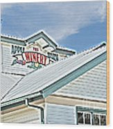 The Apple Barn Winery Pigeon Forge Tn Wood Print