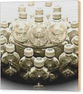 The Apple Bottle Wood Print