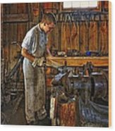 The Apprentice Hdr Wood Print