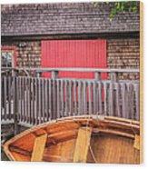 The Apprentice Shop Rockland Maine Wood Print