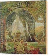 The Arbor Wood Print