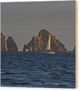 The Arch El Arco Cabo San Lucas Wood Print