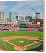 The Arch In The Outfield Wood Print