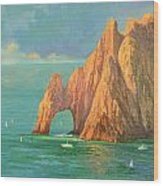 The Arch Of Cabo San Lucas 2 Wood Print