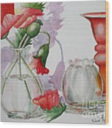 The Arrangement Wood Print