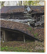 The Art Of Decay Wood Print