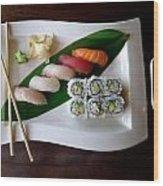 The Art Of Japanese Food Wood Print