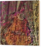 The Art Of Music Wood Print