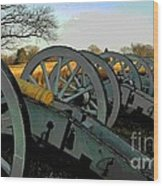 The Artillery Wood Print