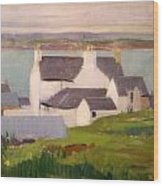 The Artists Studio Iona Wood Print by Francis Campbell Boileau Cadell
