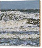 The Atlantic Ocean At Sullivan's Island Wood Print