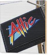 The Attic Myrtle Beach Sc Wood Print