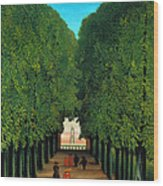 The Avenue In The Park At Saint Cloud    Wood Print
